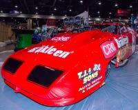 Dodge Daytona dragster at SEMA. stock images