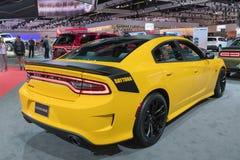 Dodge-de Lader Daytona 392 op vertoning tijdens La Auto toont Royalty-vrije Stock Afbeeldingen