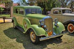 1933 Dodge de Sedan van Zes Reeksendp Stock Afbeelding
