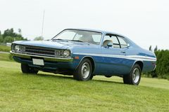 Dodge demon. Picture of the 1972 Dodge Demon royalty free stock photo