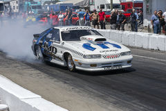 Dodge drag car Stock Photos