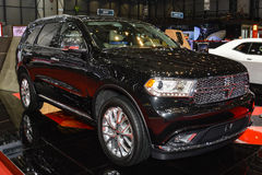 Dodge Durango al salone dell'automobile di Ginevra Fotografia Stock