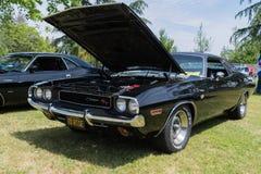 Dodge Eiser rechts op vertoning Stock Foto's