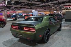 Dodge Eiser SRT 392 op vertoning tijdens La Auto toont Stock Afbeelding