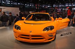 Dodge Electrical Concept Car royalty free stock photos