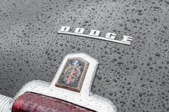 Dodge emblem royaltyfria bilder