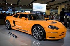 Dodge EV Electric Concept car at NAIAS royalty free stock image