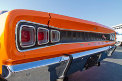 Dodge för klassiker 1968 bil Arkivfoto