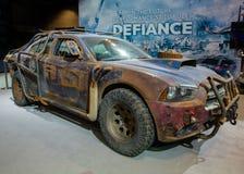 Dodge för trotslagvårdare uppladdare Royaltyfria Foton