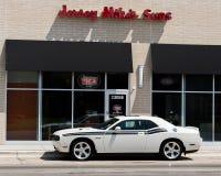 2010 Dodge Hemi Challenger R/T, croisière de rêve de Woodward, MI Images stock