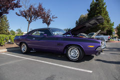 Dodge Hemi 6 Pak TA. At Cars and Coffee in Blackhawk , Danville . Ca . Picture taken by Luigi Dionisio 2016 Stock Images