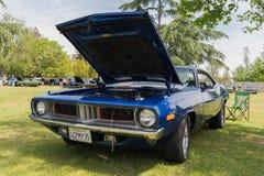 Dodge-Herausforderer auf Anzeige Lizenzfreie Stockfotos