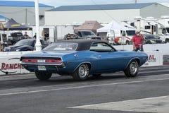 Dodge-Herausforderer an der Anfangszeile Stockfotos