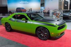 Dodge-Herausforderer-Grün Stockbild