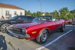 1970 Dodge Herausforderer-Kabriolett Lizenzfreie Stockbilder