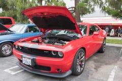 Dodge-Herausforderer SRT 392 auf Anzeige Lizenzfreie Stockfotos