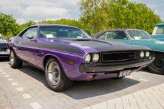 1970 Dodge Herausforderer-Weinleseauto Stockfoto