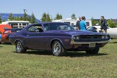 Dodge-Herausfordererfunktelegraphie Lizenzfreie Stockfotos