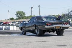 Dodge-lader op het spoor Stock Foto