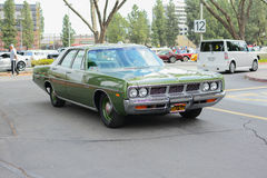 Dodge Monaco classic car on display Stock Photography