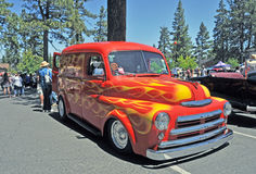 Dodge Panel Truck Royalty Free Stock Image