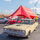 Dodge-Pfeil der Richard Rawlings-' Gas-Affe-Garagen-1967, Woodward Dr. Lizenzfreie Stockfotos