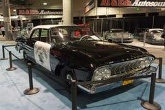 Dodge Polara 1961 polisbil Arkivbilder