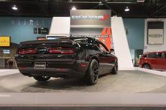 Dodge pretendent SRT na pokazie Fotografia Royalty Free