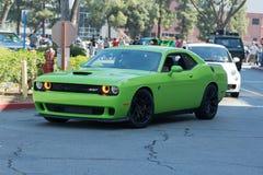 Dodge pretendenta SRT samochód na pokazie Obrazy Royalty Free