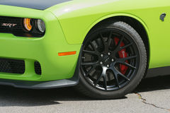 Dodge pretendenta SRT samochód na pokazie Fotografia Stock