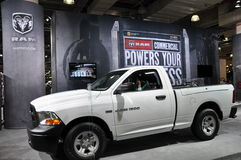 Dodge RAM. NEW YORK - APRIL 11: Dodge RAM at the 2012 New York International Auto Show running from April 6-15, 2012 in New York, NY stock image