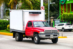 Dodge Ram 4000. ACAPULCO, MEXICO - MAY 30, 2017: Motor car Dodge Ram 4000 in the city street stock images