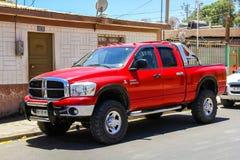 Dodge Ram 2500. CALAMA, CHILE - NOVEMBER 16, 2015: Pickup truck Dodge Ram 2500 in the city street royalty free stock photography