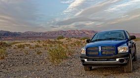 Dodge-Ram in Doodsvallei royalty-vrije stock foto's