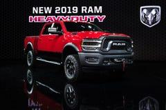 Dodge Ram Heavy Duty Hemi 2500 maktvagn arkivbilder