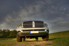 Dodge ram pickup stock photography