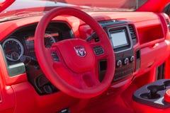 Dodge Ram Pickup Interior fotografia stock libera da diritti
