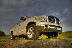 Dodge ram pickup sideview royalty free stock images