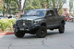 Dodge Ram Pickup su esposizione Fotografie Stock Libere da Diritti