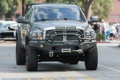 Dodge Ram Pickup su esposizione fotografia stock