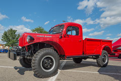 Dodge RAM Power Wagon på den Woodward drömkryssningen Arkivfoton