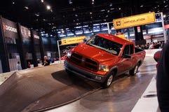 Dodge Ram ramp demo royalty free stock photography