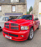 Dodge Ram SRT pickup truck Stock Image