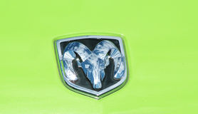 Dodge-RAM-Symbol Stockfoto