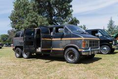 Dodge Ram Van su esposizione Fotografia Stock Libera da Diritti