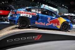 Dodge Red Bull Car Royalty Free Stock Image