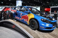 Dodge Red Bull Car Royalty Free Stock Photography