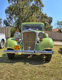 1933 Dodge seis vistas delanteras del sedán del DP de la serie Imagenes de archivo