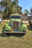 1933 Dodge sex främre sikt för serieDP-Sedan Arkivfoto