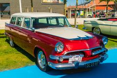 Dodge Sierra Oldtimer at the annual national oldtimer day in Lelystad stock photo